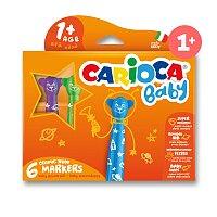 Dětské fixy Carioca Baby Teddy Marker