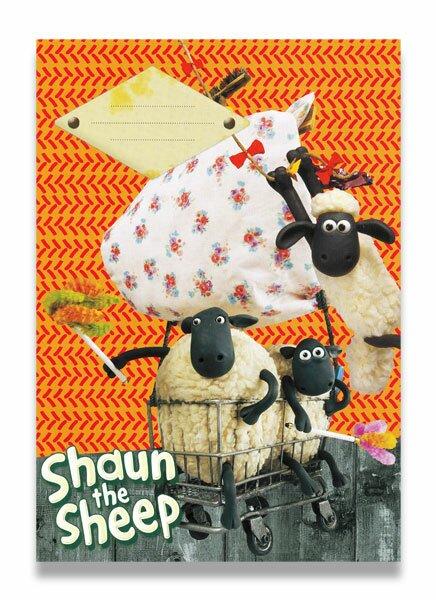 Školní sešit Ovečka Shaun A4, linkovaný, 40 listů