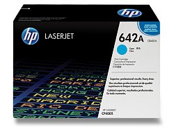 Toner HP CB401A č. 642A pro laserové tiskárny