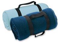 Fit - cestovní deka s popruhem, výběr barev