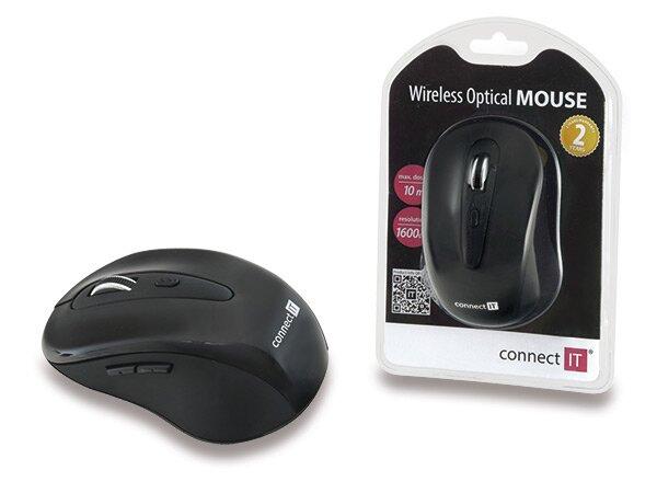 Bezdrátová optická myš Connect IT CI-66 800/1200/1600 dpi