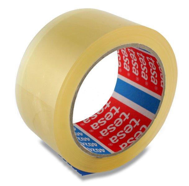 Balicí páska Tesa nehlučná 50 mm x 66 m, transparentní