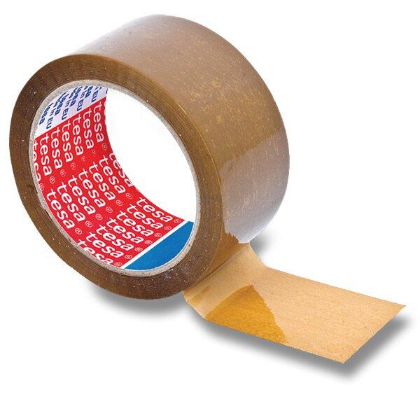 Balicí páska Tesa nehlučná 50 mm x 66 m, hnědá