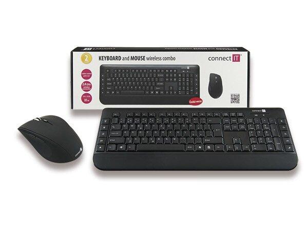 Bezdrátový set Connect CI -185 klávesnice + myš