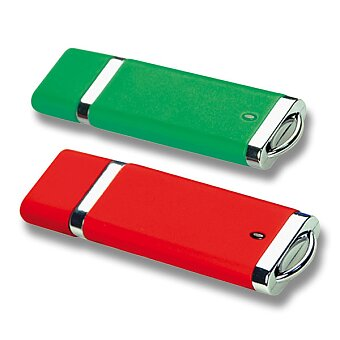 Obrázek produktu USB Flash disk s krytkou, velikost 2 GB, výběr barev