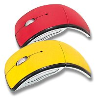 Dynamo - skládací bezdrátová myš, výběr barev