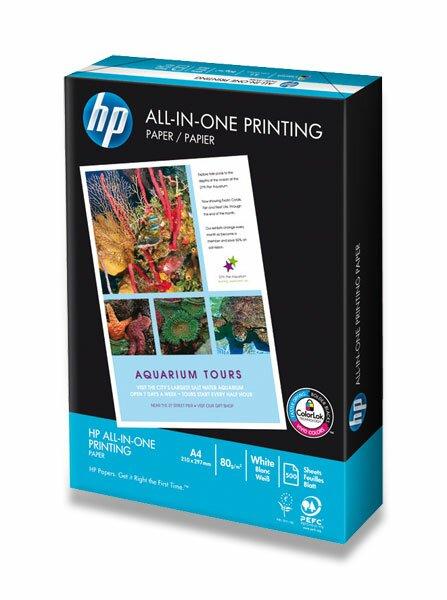 Kancelářský papír HP All-in-one A4, 5 x 500 listů
