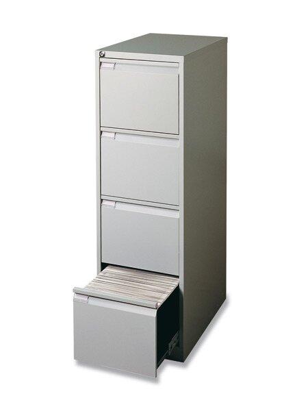 Kartotéka Bisley IPCAA 4 zásuvky, 1321 x 413 x 622 mm