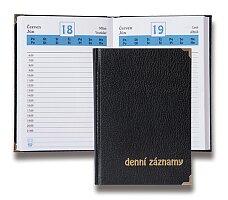 Diář Denní záznamy bez označení roku