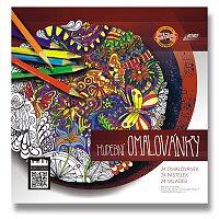 Hudební omalovánky s pastelkami Polycolor
