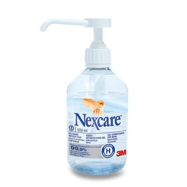 Dezinfekční gel na ruce Nexcare 500 ml, s pumpičkou