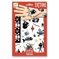 Tetování Djeco - Piráti