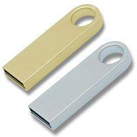 USB Flash disk - přívěšek na klíče, velikost 4 GB,výběr barev