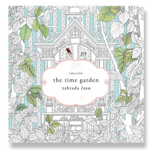 Antistresové omalovánky - Zahrada času Daria Song