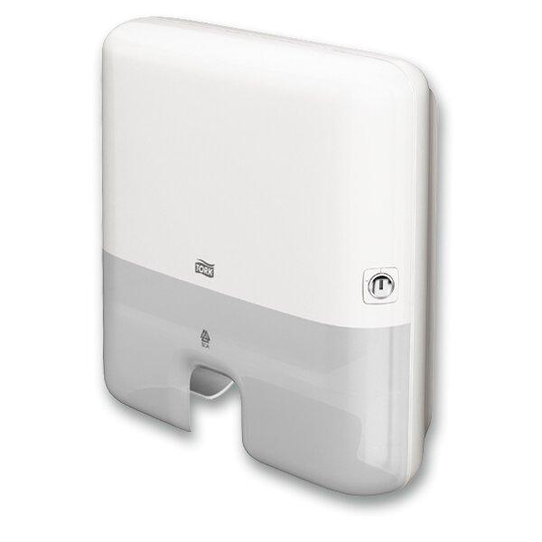Zásobník na skládané ručníky Tork Xpress Mini H2 bílý
