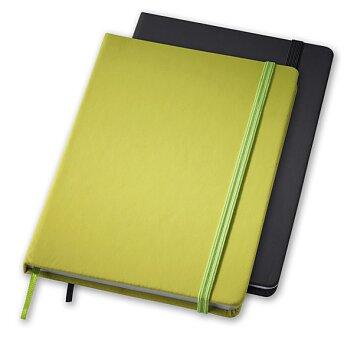 Obrázek produktu Rainbow M - linkovaný zápisník s gumičkou, výběr barev