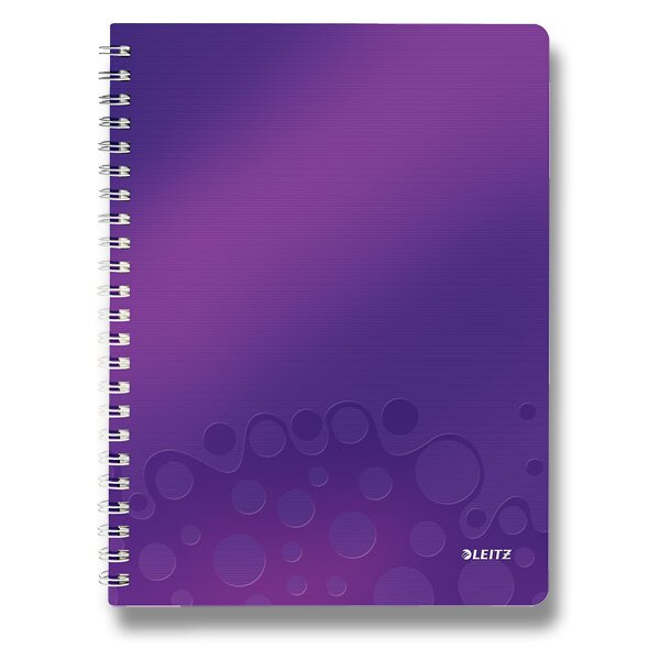Kroužkový blok Leit Wow fialový