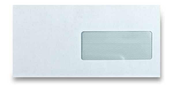 Obálka Pigna DL s okénkem, samolepicí, 1000 ks