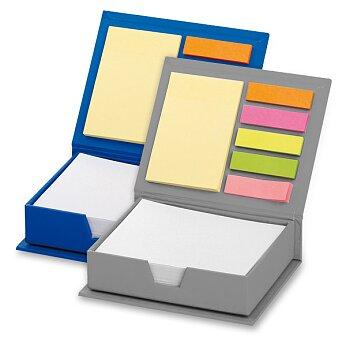 Obrázek produktu Memo - samolepicí záložky a bloček na poznámky - výběr barev