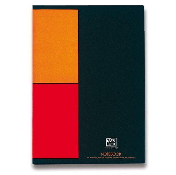 Šitá záznamní kniha Oxford Notebook A4, 80 listů, čverečkovaná