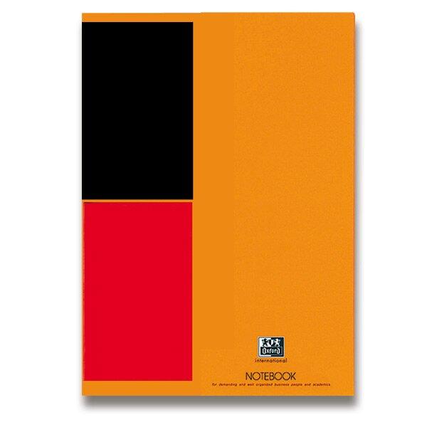 Šitá záznamní kniha Oxford Notebook A4, 80 listů, linkovaná
