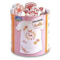 Razítka Stampo Textile - Věneček květin