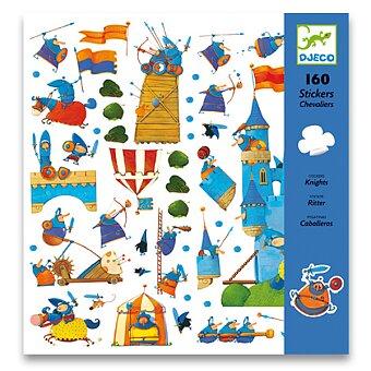 Obrázek produktu Samolepky Djeco - Rytíři