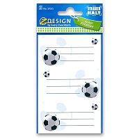 Samolepicí štítky na sešity - Fotbal