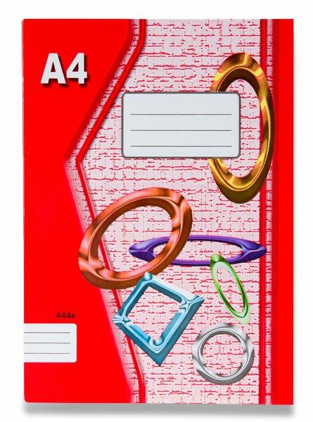 Školní sešit EKO 444 A4, linkovaný, 40 listů