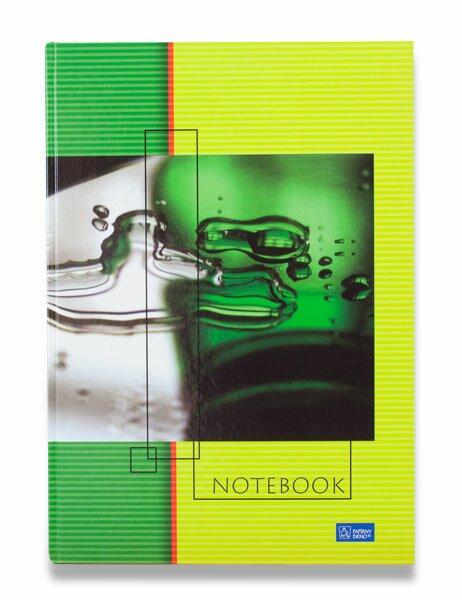 Záznamní kniha Papírny Brno Euro A4, 180 listů, linkovaná