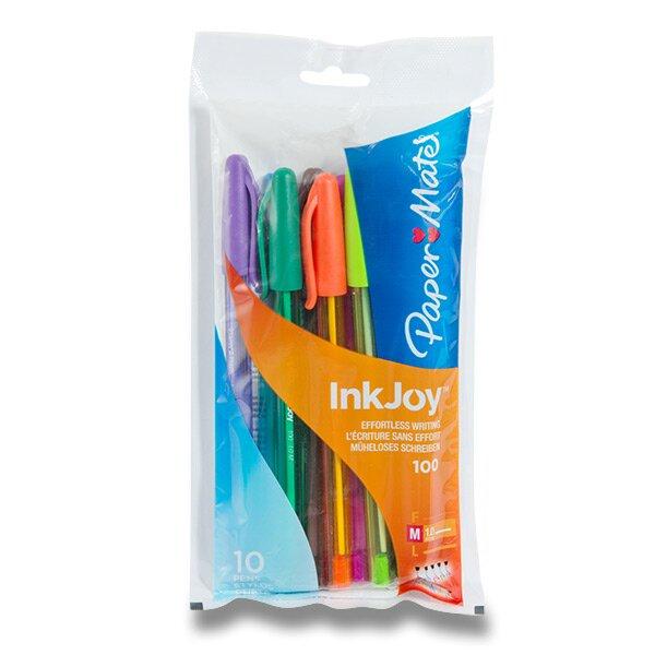 Kuličková tužka PaperMate Inkjoy 100 sada 10 kusů
