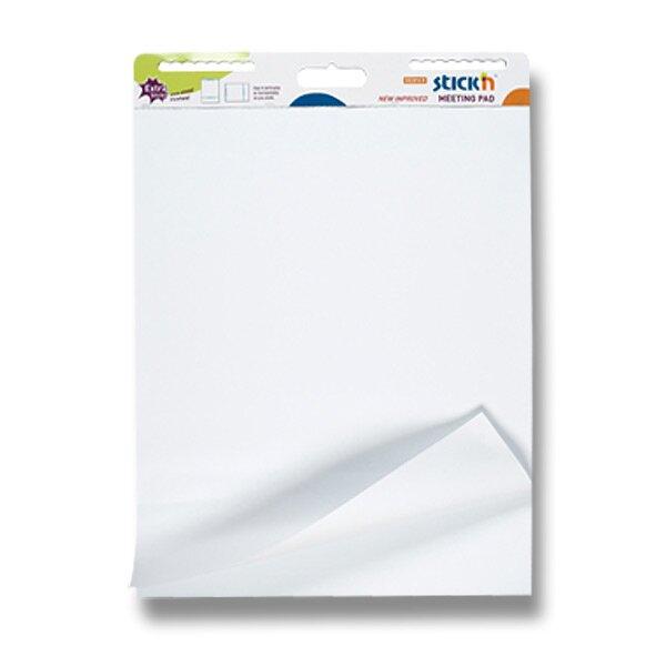 Samolepící mobilní flipchart Hopax Stick´n bílé listy
