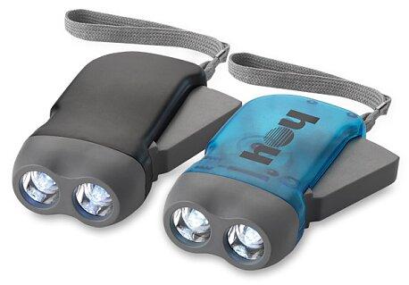 Obrázek produktu Virgo - LED svítilna s ručním dynamem, výběr barev