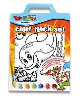 Kreativní sada Toy Color - Flock Set