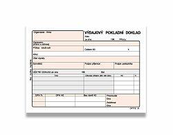 Výdajový pokladní doklad Optys OPT1083