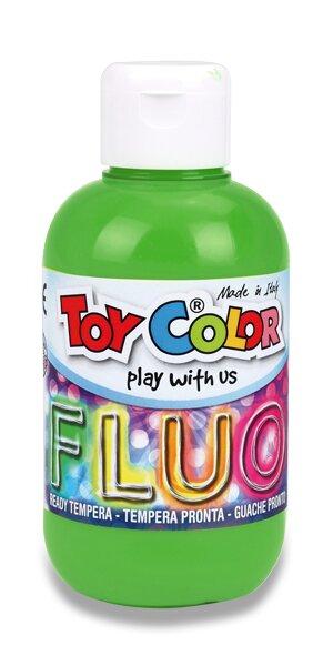 Temperová barva Ready TemperaFluo - 250 ml zelená