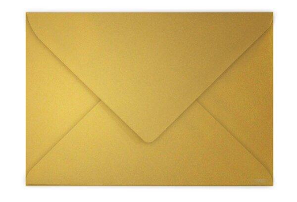 Barevná obálka Clairefontaine zlatá