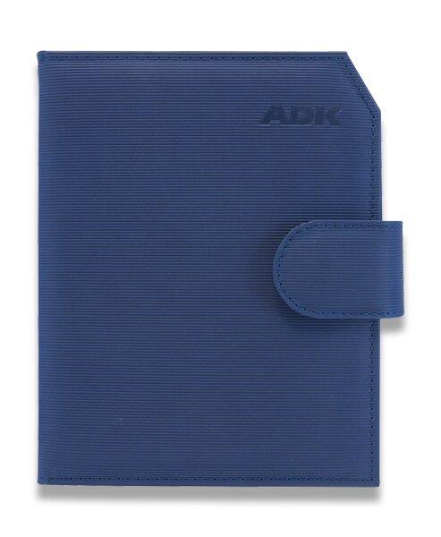 Plánovací diář ADK Praktik A5, modrý