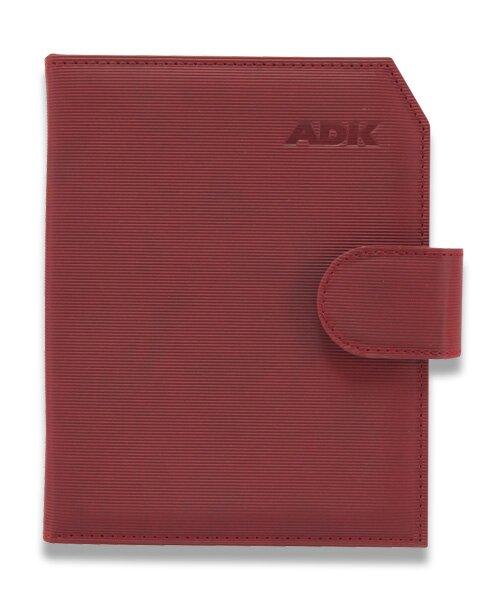 Plánovací diář ADK Praktik A5, červený