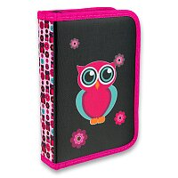 Penál Karton P+P Pink Owl