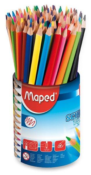 Pastelky Maped Color'Peps 72 kusů (6 x 12 barev) v dóze