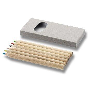 Obrázek produktu Karton - sada 6 ks pastelek v papírové krabičce
