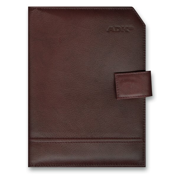 Plánovací diář ADK Classic A5, hnědá barva