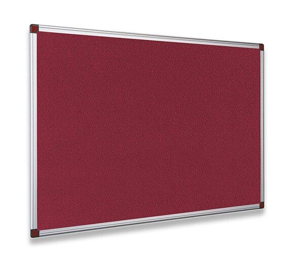Textilní tabule ohnivzdorná Bi-Office 90 x 60 cm