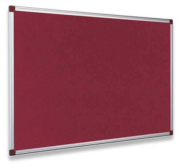 Textilní tabule ohnivzdorná Bi-Office 120 x 90 cm