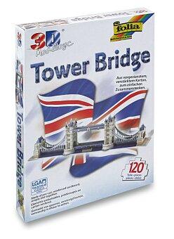 Obrázek produktu 3D stavebnice Folia - Tower Bridge - 120 dílků