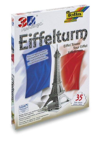 3D stavebnice Folia - Eiffelova věž 35 dílků