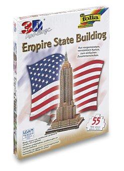 Obrázek produktu 3D stavebnice Folia - Empire State Building - NY - 55 dílků