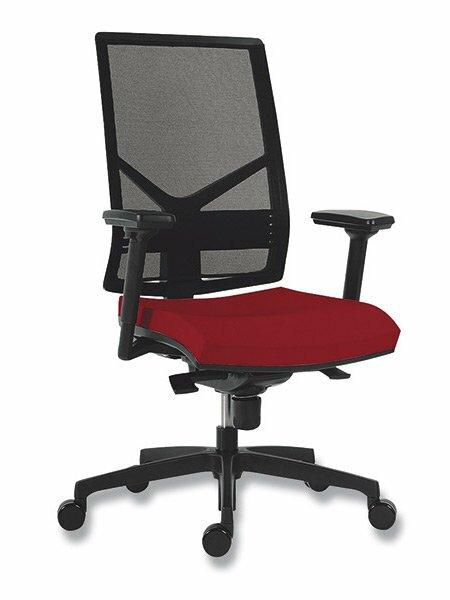 Kancelářská židle Antares 1850 Syn Omnia červená