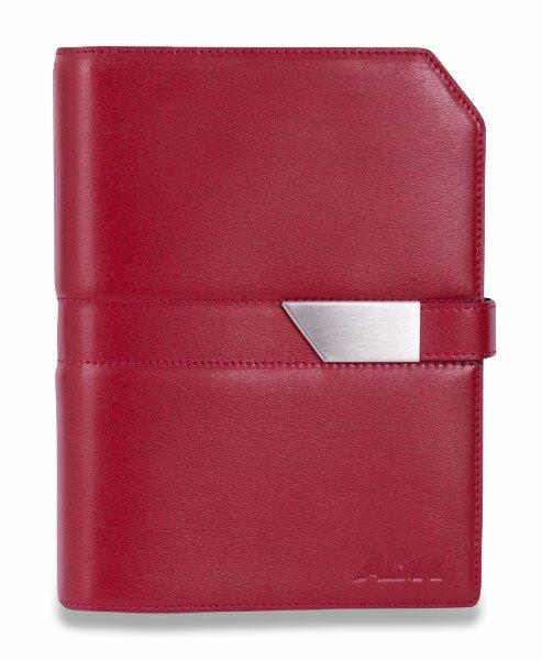 Plánovací diář ADK Classic New A5, červeno - černá barva